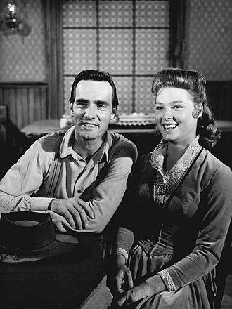Mariette Hartley - With Dennis Weaver in Gunsmoke (1962)