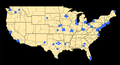 Deployment of Nike Missiles Within Contiguous United States.png