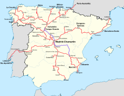 Destinations from Madrid-Chamartín Station.svg