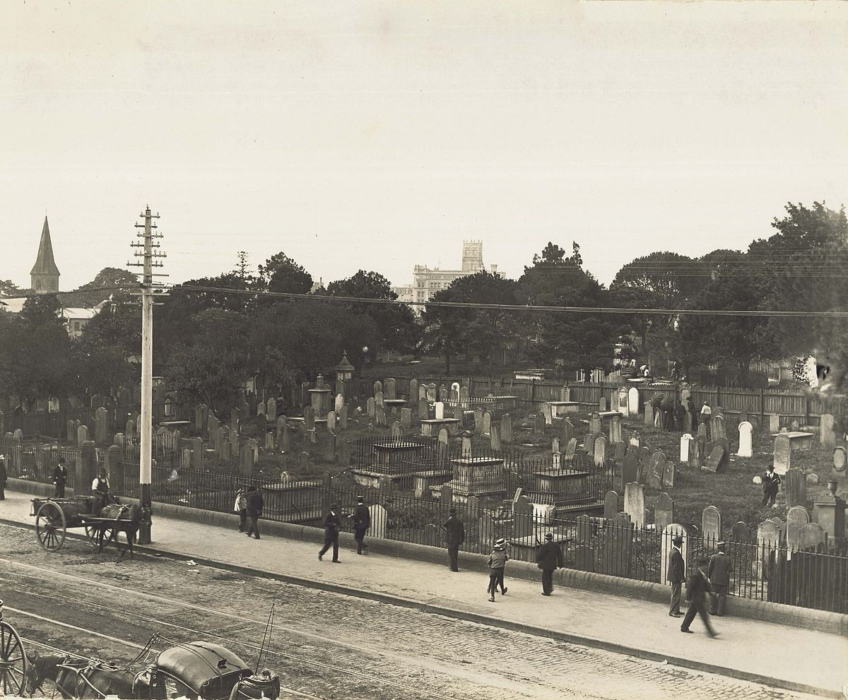 Devonshire street cemetery wikipedia for The devonshire