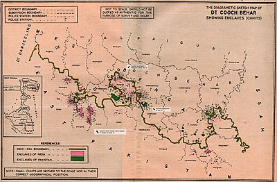 India–Bangladesh enclaves | Revolvy