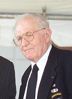 E Company, 506th Infantry Regiment (United States) - Richard Winters in 2004.
