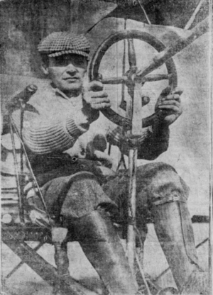 Didier Masson - Masson in Pegasus in January 1911