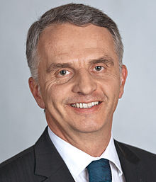 Photo officielle de Didier Burkhalter (2011).