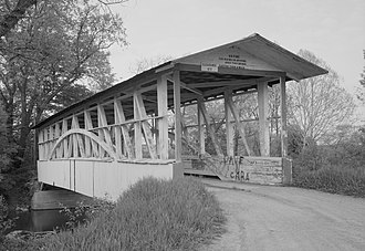 Harrison Township, Bedford County, Pennsylvania - Diehls Covered Bridge