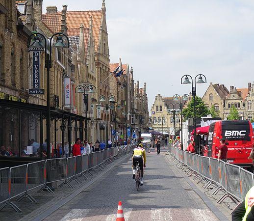Diksmuide - Ronde van België, etappe 3, individuele tijdrit, 30 mei 2014 (A138).JPG