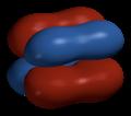 Dimolybdenum-Mo2-delta-bond-Spartan-HF-3-21G-3D-side.png
