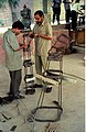Diplodocus in Making - Dinosaurs Alive Exhibition - NCSM - Calcutta 1995 456.JPG
