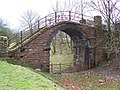 Dismantled Railway Foot Bridge - geograph.org.uk - 466707.jpg