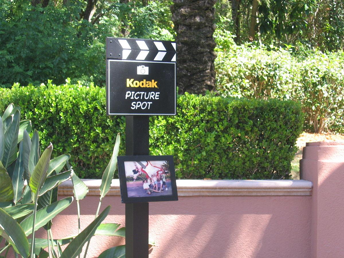 spot kodak disney studios hollywood mgm peter gates commons pearly saint wikimedia wikipedia spots sign uploaded under makin memories