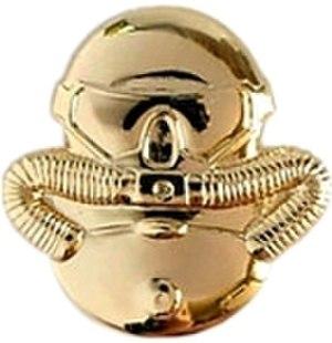 United States Marine Corps Reconnaissance Battalions - USMC Combat Diver Badge.