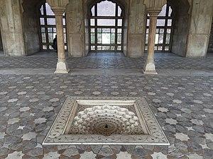 Diwan-i-Khas (Lahore Fort) - Image: Diwan i Khas, Lahore, Interior