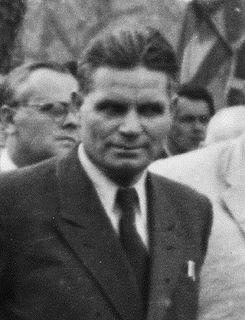 István Dobi Hungarian politician