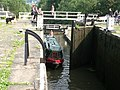 Dobson Locks, Leeds and Liverpool Canal at Apperley Bridge (geograph 2976117).jpg