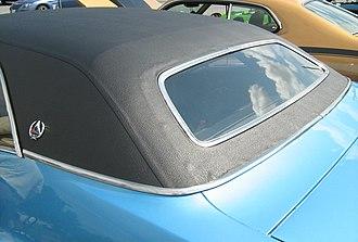 "Dodge Challenger - SE ""formal"" rear window"