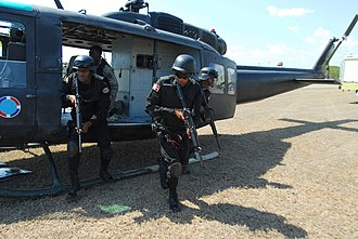 Armed Forces of the Dominican Republic - Dominican Republic commandos in counter-terrorist and counter-illegal drug trade operations.