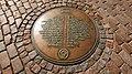 Doms UNESCO Marker, Riga, Latvia.jpg