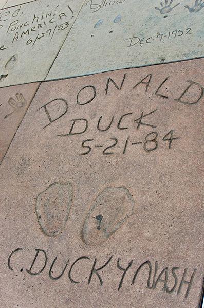 Arquivo: Donald Duck em Theatre.jpg Chinês Grauman