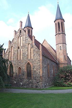 Pankow (locality) - Image: Dorfkirche Pankow 05
