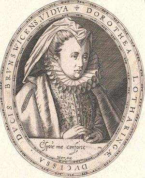 Dorothea of Lorraine - Image: Dorothea of Lorraine, Duchess of Brunswick
