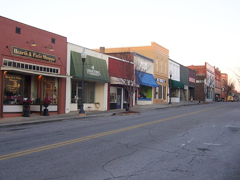 File:Downtown Opelika Alabama.jpg