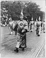 Dr. H.W. Evans, Imperial Wizard of the Ku Klux Klan, leading his Knights of the Klan in the parade held in Washington, D.C. LCCN2001706342.jpg
