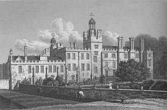 Charles Sackville-Germain, 5th Duke of Dorset - Drawing of Drayton House as it was during the time of the 5th Duke of Dorset.  It appears little-altered today. Its descent through generations of the same family is shown on its article page.