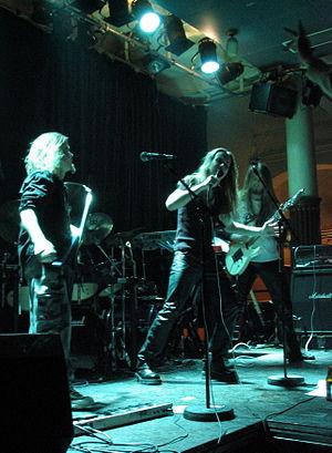Dreamtale - Dreamtale at YO-talo in Tampere, Finland, in February 2004. From left to right, Keränen, Ahola, Orjatsalo.