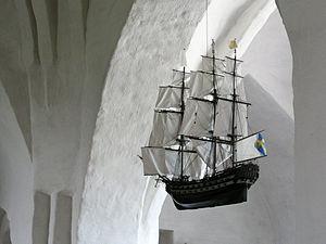 Ex-voto - Image: Drothem Votive Ship