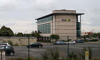 Dublin Airport - DAA headquarters at Dublin Airport