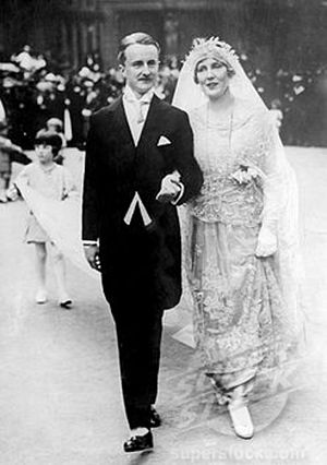 Duff Cooper - Duff Cooper at his wedding to Lady Diana Manners in 1919