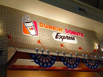 Dunkin' Donuts - The Dunkin' Donuts Express located in Midway International Airport.