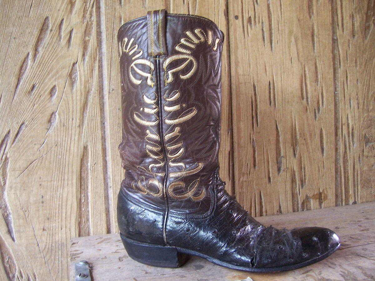 c25824fe5bc Cowboy boot - Wikipedia