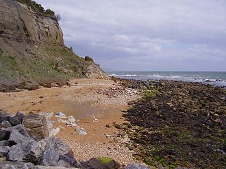 Dunnose, Isle of Wight - The beach at Dunnose