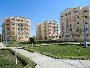 New Borg El Arab - Egypt-Japan University buildings