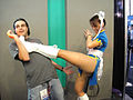 E3 2011 - Chun-Li from Street Fighter poses at the Capcom booth.jpg