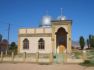 Issyk-Kul Region - Image: E8286 Tamchy mosque