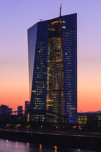 ECB Frankfurt at Sunset.jpg
