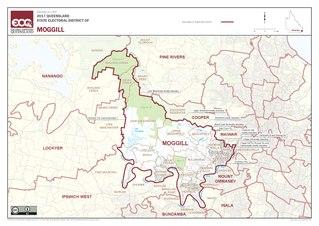 Electoral district of Moggill state electoral district of Queensland, Australia