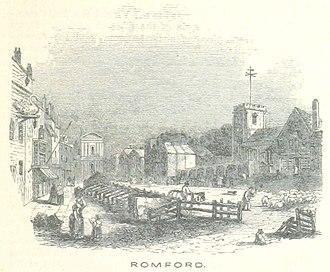 Romford - Romford in 1851