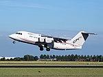 EI-RJY Cityjet British Aerospace Avro RJ85 takeoff from Schiphol (AMS - EHAM), The Netherlands pic3.JPG