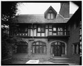 ENCLOSED PORCH WEST - Stan Hywet Hall, 714 North Portage Path, Akron, Summit County, OH HABS OHIO,77-AKRO,5-127.tif