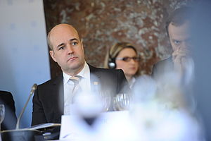 Fredrik Reinfeldt - Reinfeldt at the EPP Congress in March 2012