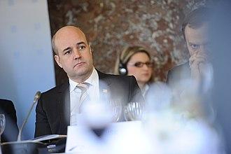 Fredrik Reinfeldt - Reinfeldt at the EPP Congress in March 2012