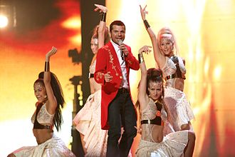 Turkey in the Eurovision Song Contest - Image: ESC 2007 Turkey Kenan Doğulu Shake it up Shekerim