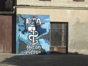 Acronimo di ETA ad Altsasu, comune della comunità autonoma di Navarra