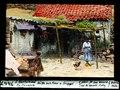 ETH-BIB-San Bartolomé, Gran Canaria, Hütte mit Frau und Güggel-Dia 247-07447.tif