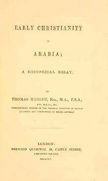 Early Christianity in Arabia.djvu