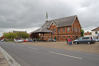 Easingwold - Image: Easingwold Town Hall geograph.org.uk 1308210