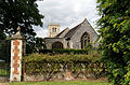 East wall St Etheldredas from east Hatfield House Hertfordshire England.jpg